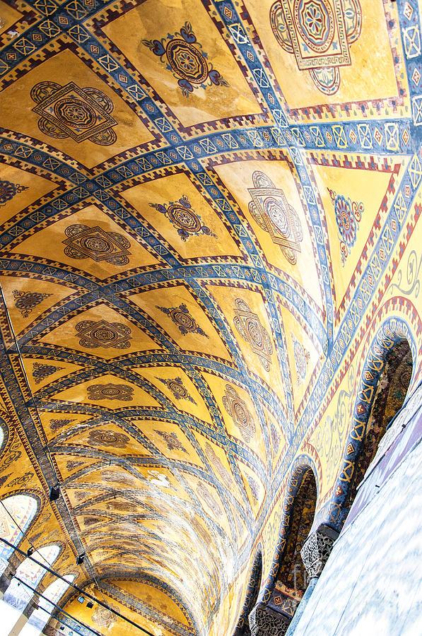 Hagia Sofia Interior 16 Photograph