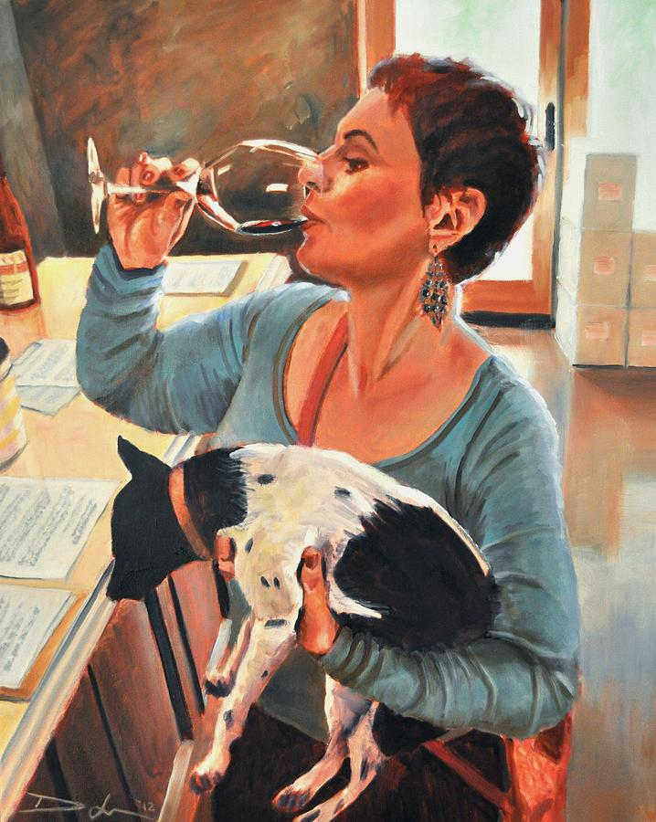 Hair Of The Dog Painting