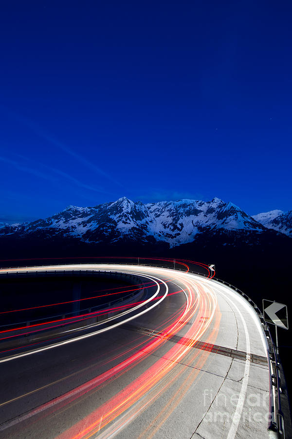 hairpin Turn Photograph - Hairpin Turn by Maurizio Bacciarini