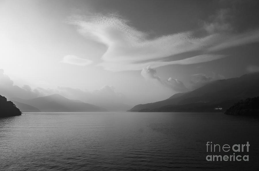 Hakone Lake Photograph