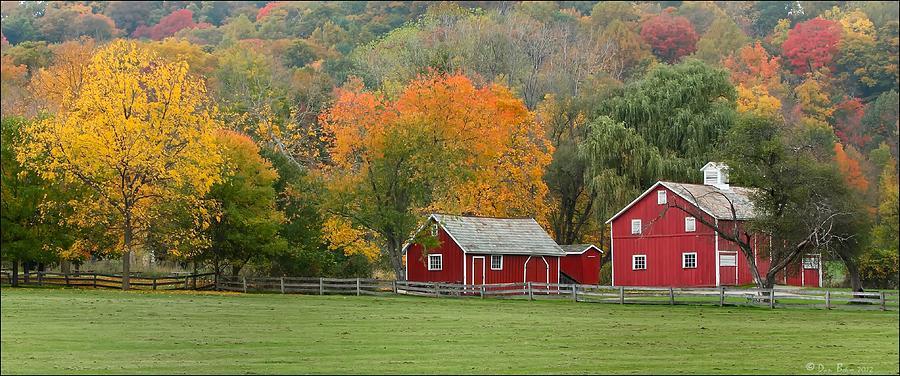 Hale Farm And Village Photograph