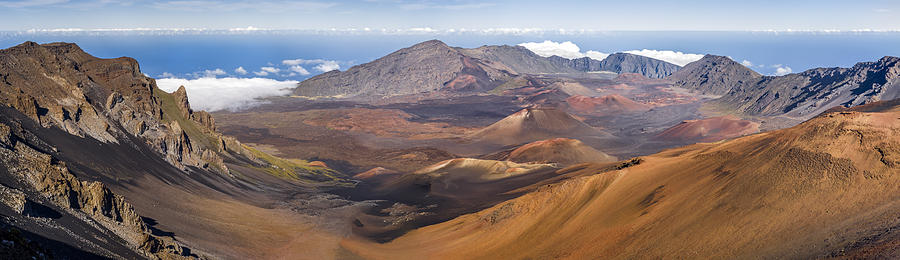 Haleakala Crater Hawaii Photograph  - Haleakala Crater Hawaii Fine Art Print