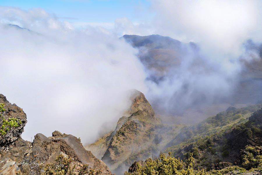 Haleakala Mists Photograph