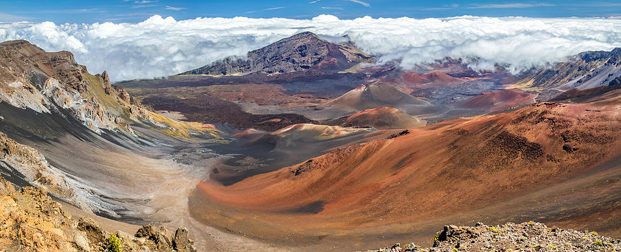 Haleakala Volcano On Maui Hawaii Photograph