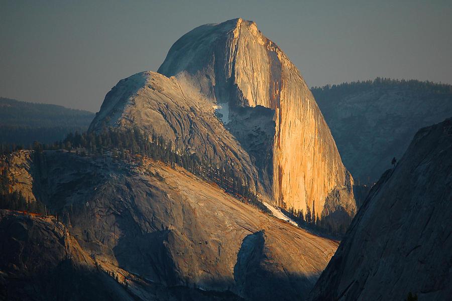 Half Dome At Sunset - Yosemite Photograph