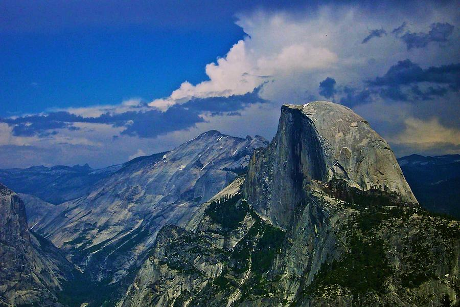 Half Dome From Glacier Point Photograph  - Half Dome From Glacier Point Fine Art Print