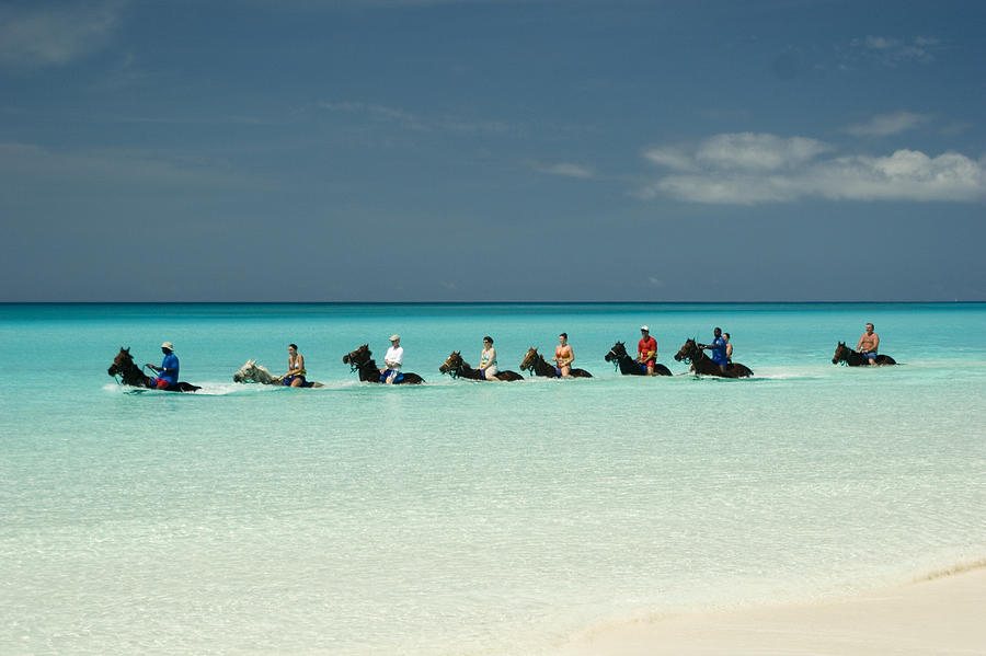 Half Moon Cay Bahamas Beach Scene is a photograph by David Smith which ...