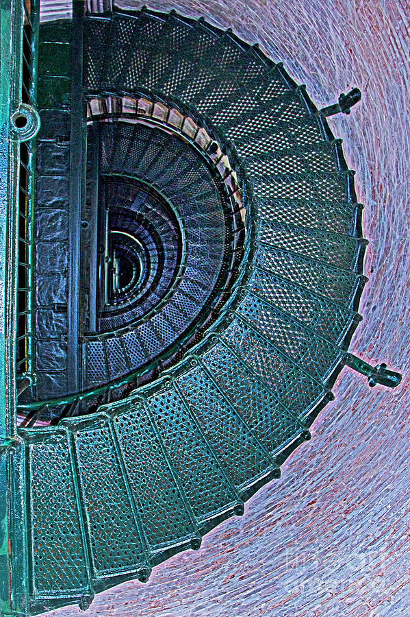 Half Spiral Staircase Photograph By Tom Gari Gallery Three