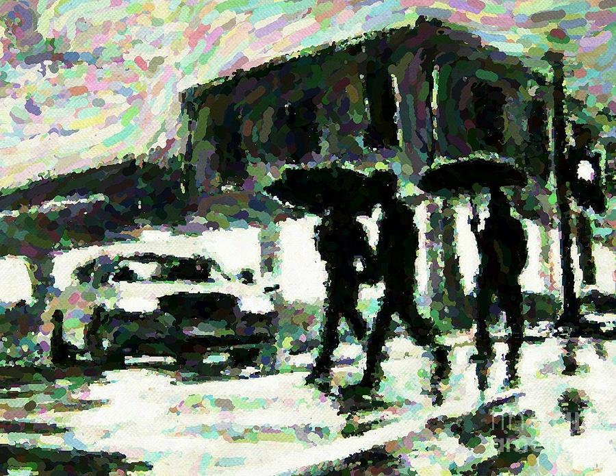 Halifax In The Rain One Digital Art