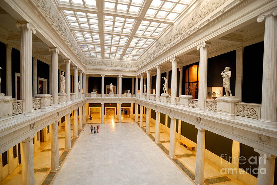 Hall Of Sculpture Carnegie Museum Photograph  - Hall Of Sculpture Carnegie Museum Fine Art Print