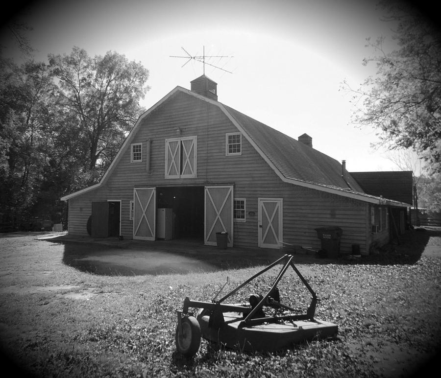 Hallman Barn Photograph