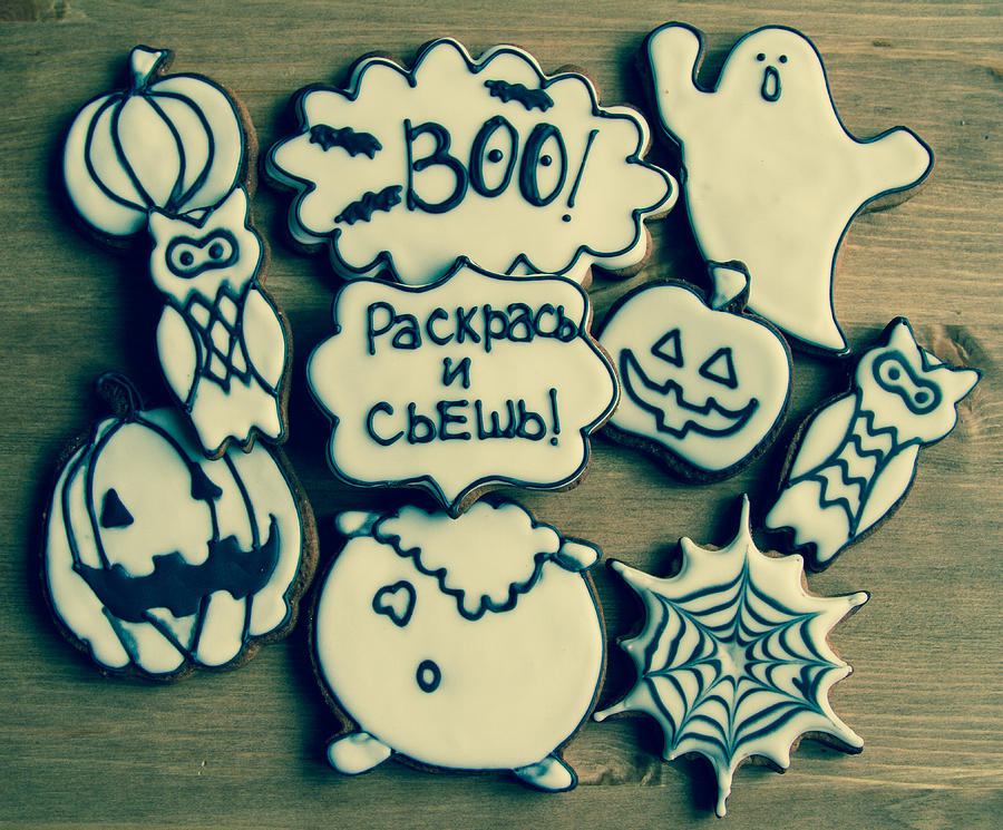 Пряники на хэллоуин своими руками 49