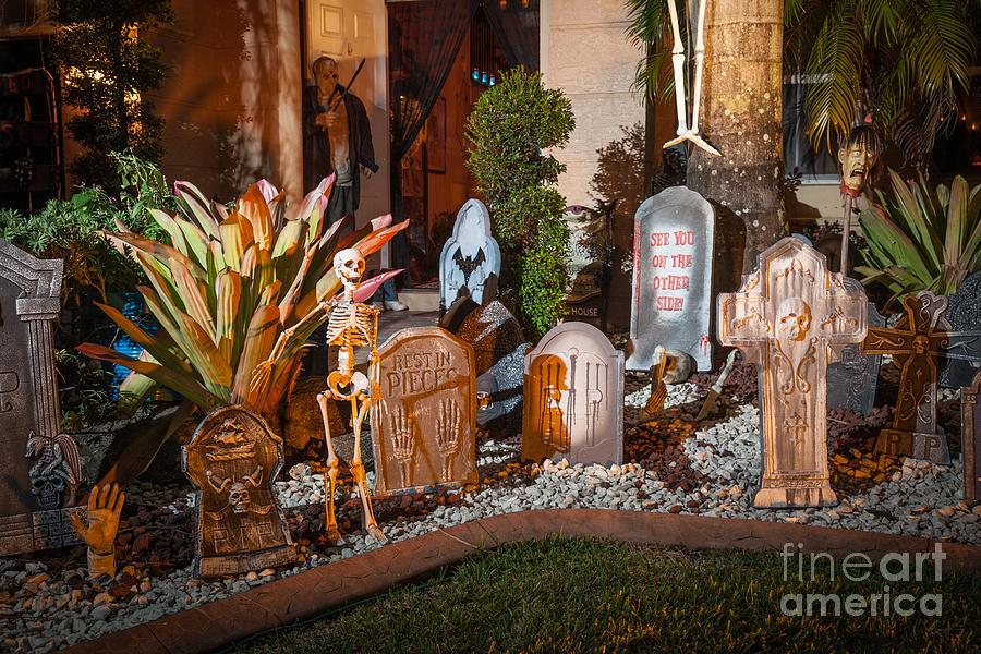 Built Structure Photograph - Halloween by Juan  Silva