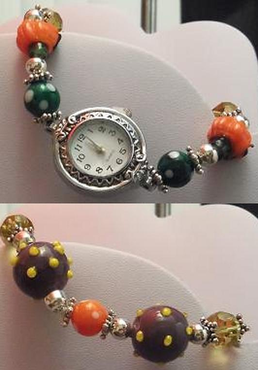 Halloween Watch Jewelry  - Halloween Watch Fine Art Print