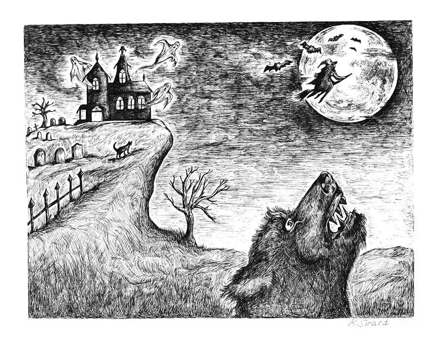 Hallows Eve Drawing