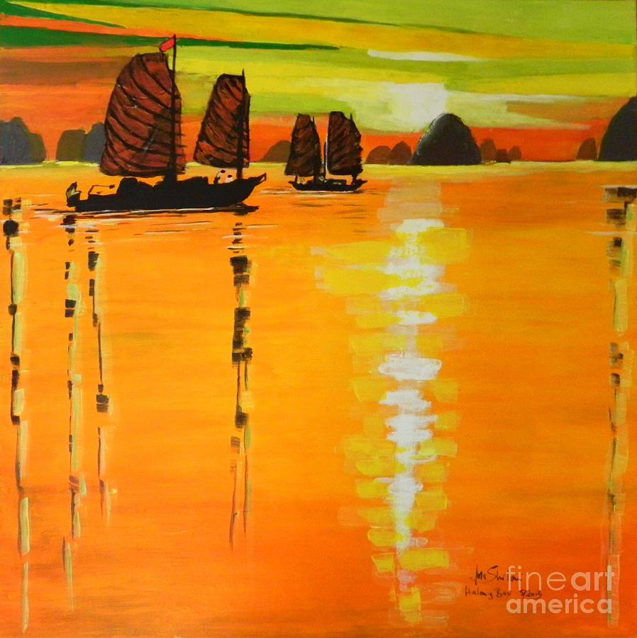 Halong Bay  Painting