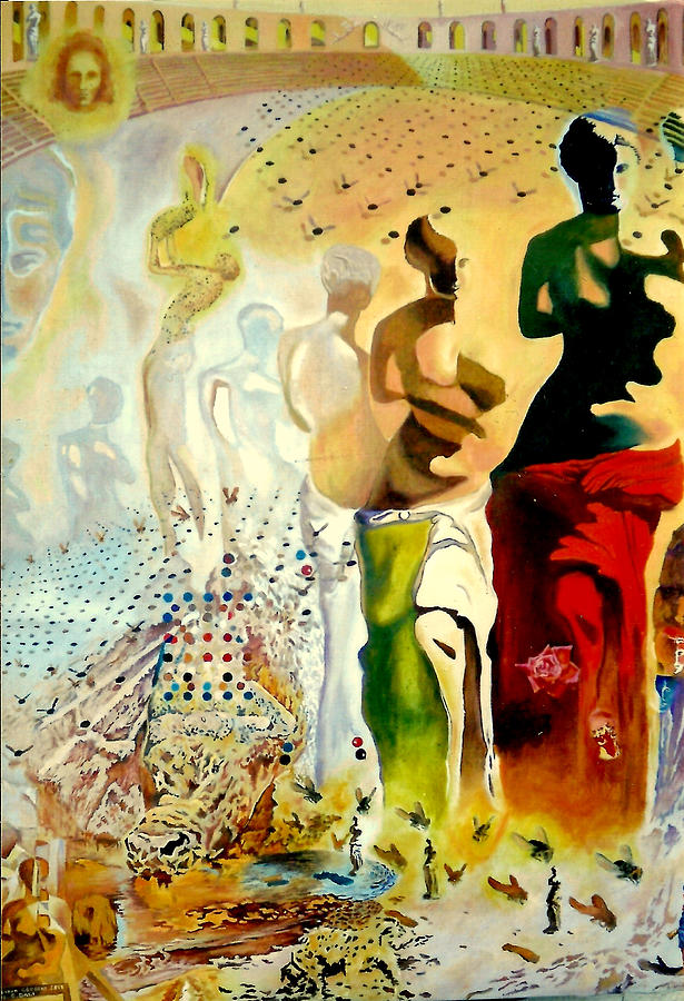 Halucinogenic Toreador By Salvador Dali Painting  - Halucinogenic Toreador By Salvador Dali Fine Art Print