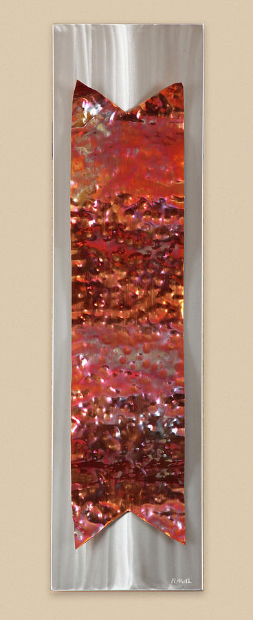 Hammered Sculpture  - Hammered Fine Art Print