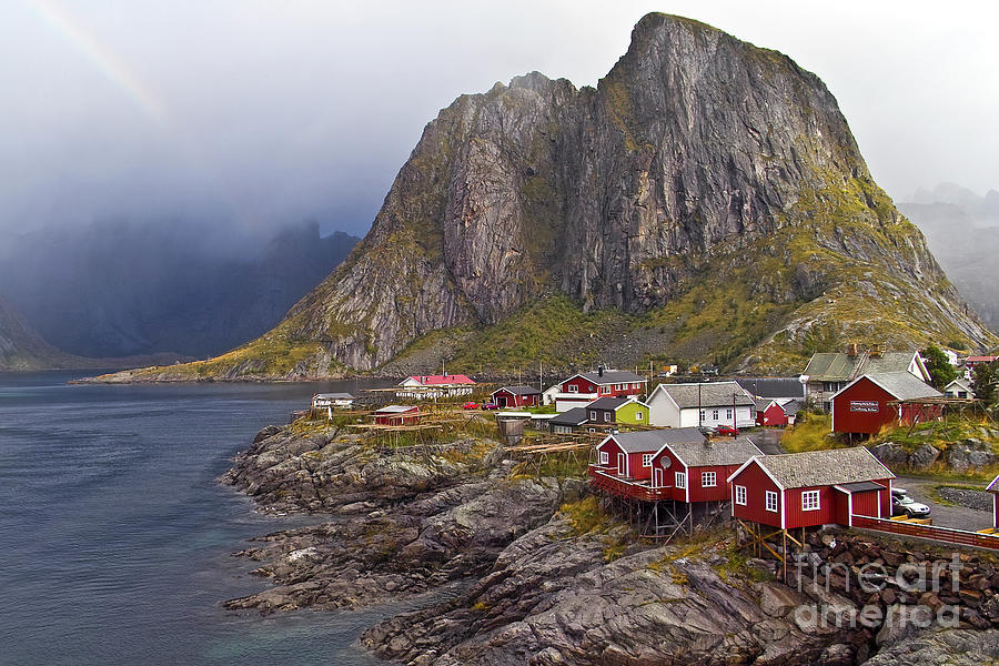 Hamnoy Rorbu Village Photograph