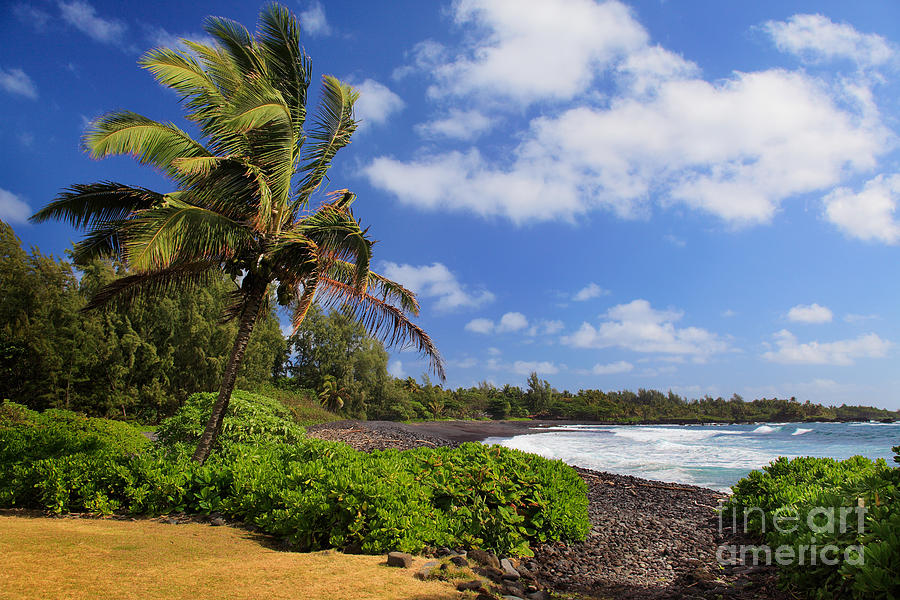 Hana Beach Photograph  - Hana Beach Fine Art Print