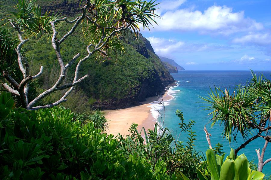 Hanakapiai Beach Photograph