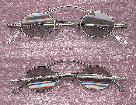 Hand Made Eye Wear Jewelry - Hand Made Sterling Silver  Eye Glasses Eyewear by Michelle  Robison