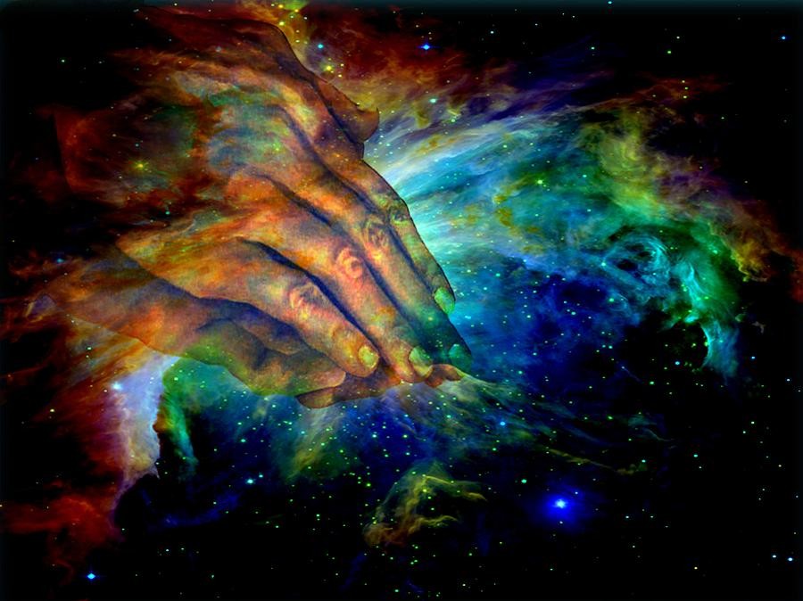 Hands Of Creation Digital Art