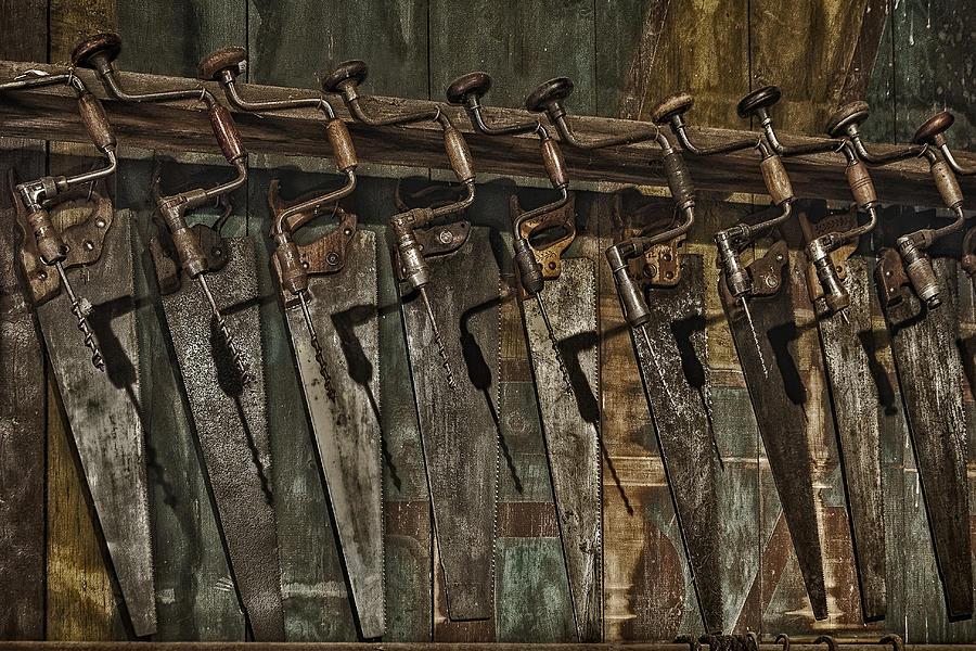 Handy Man Tools Photograph - Handy Man Tools by Susan Candelario