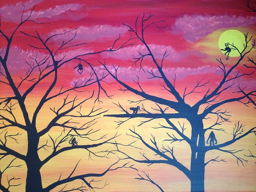 Hanging Around Painting