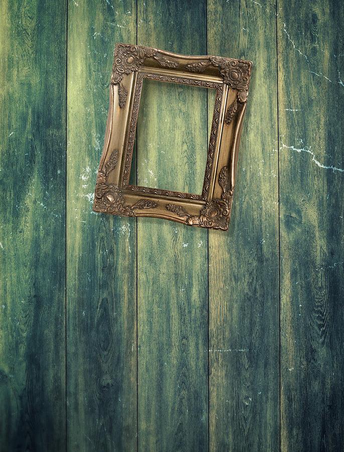 Empty Photograph - Hanging Frame by Amanda Elwell