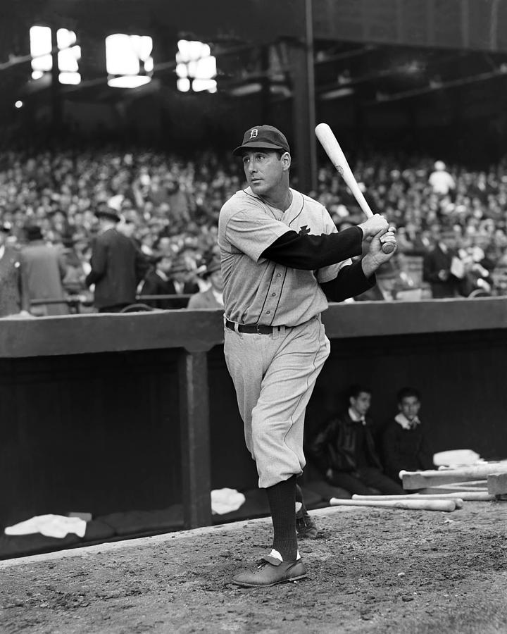 Hank Greenberg Detroit Photograph