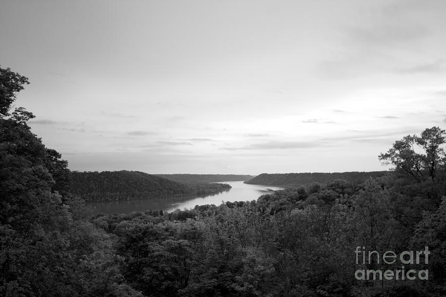 Hanover College Ohio River View Photograph  - Hanover College Ohio River View Fine Art Print