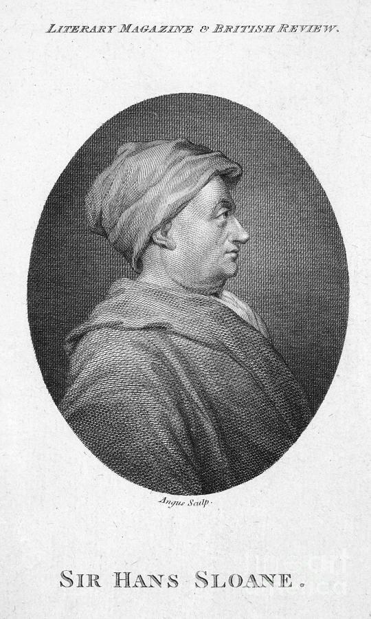 Hans Sloane (1660-1753) Photograph