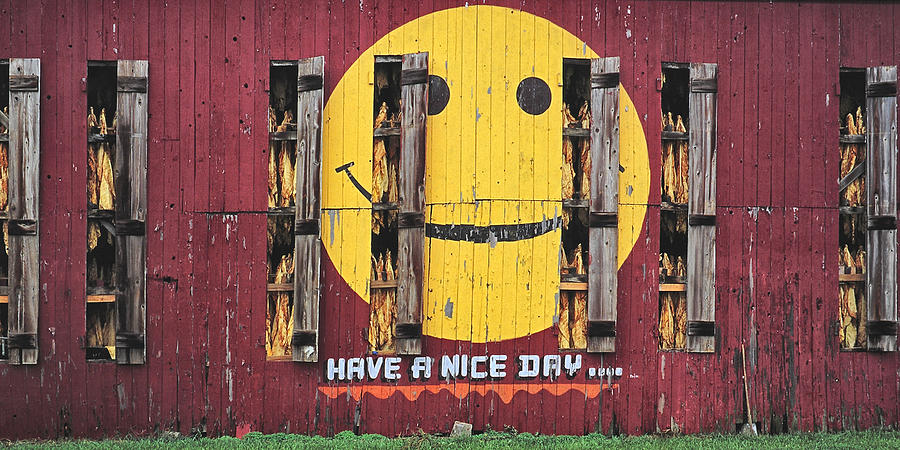 Happy Barn Photograph