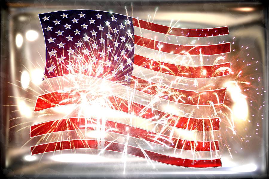 Declaration Of Independence Photograph - Happy Birthday America by Li   van Saathoff