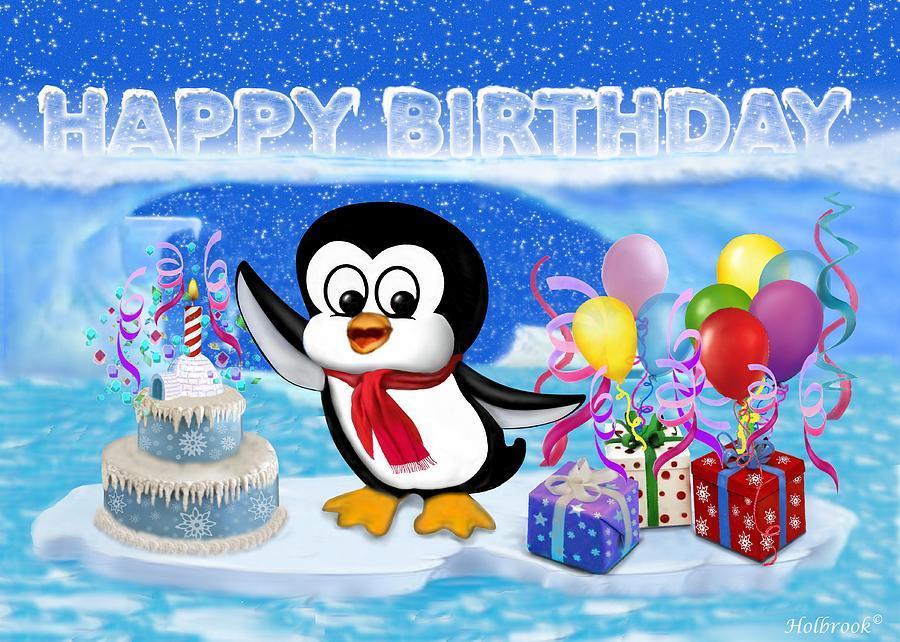 Blue Birthday Cake For Glenn