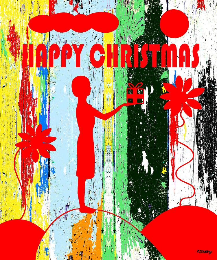 Happy Christmas 14 Painting