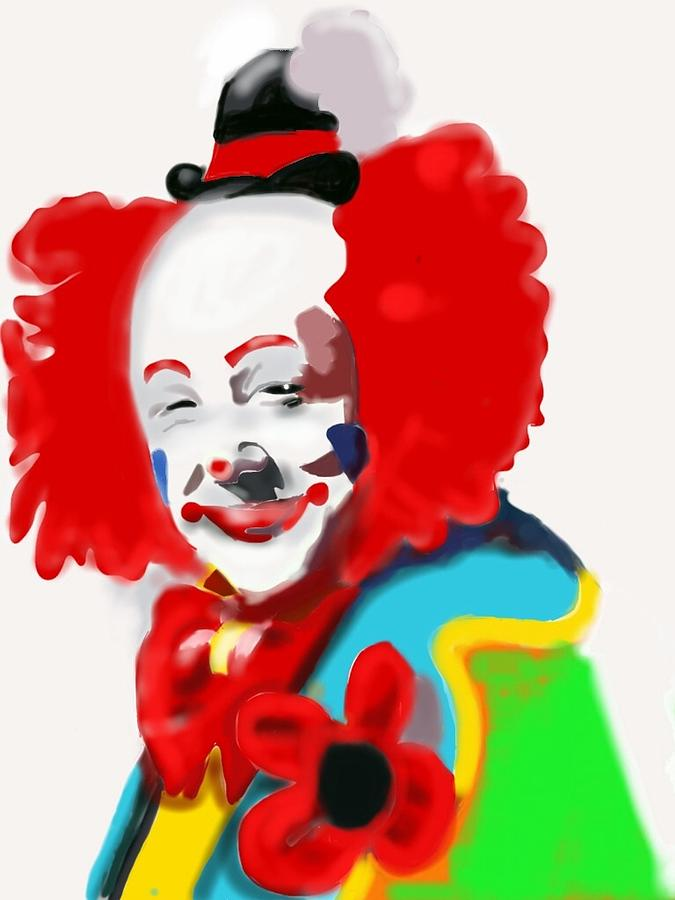 Happy Clown Painting | www.imgkid.com - The Image Kid Has It!