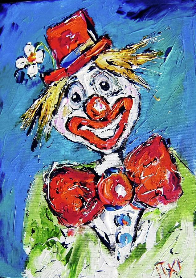 Clown Painting Canvas Prints and Clown Painting Canvas Art for Sale