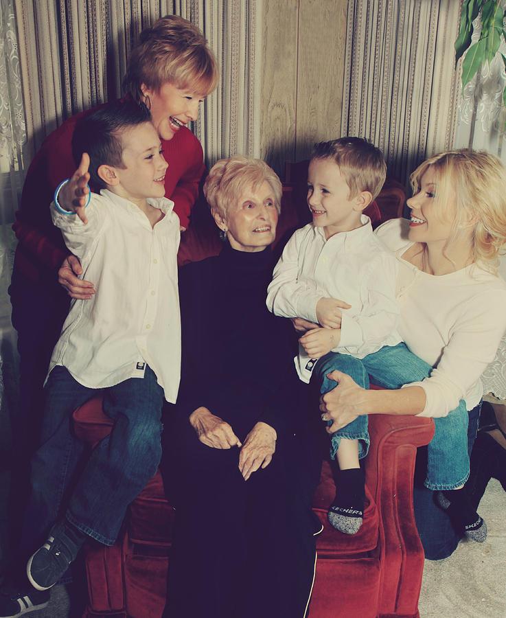 Happy Family Photograph