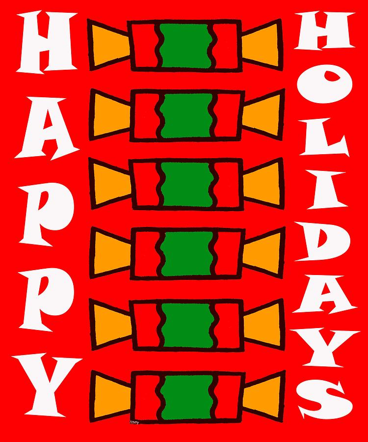 Happy Holidays 7 Painting