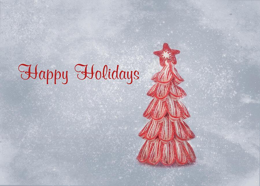 Christmas Card Art Photograph - Happy Holidays by Kim Hojnacki
