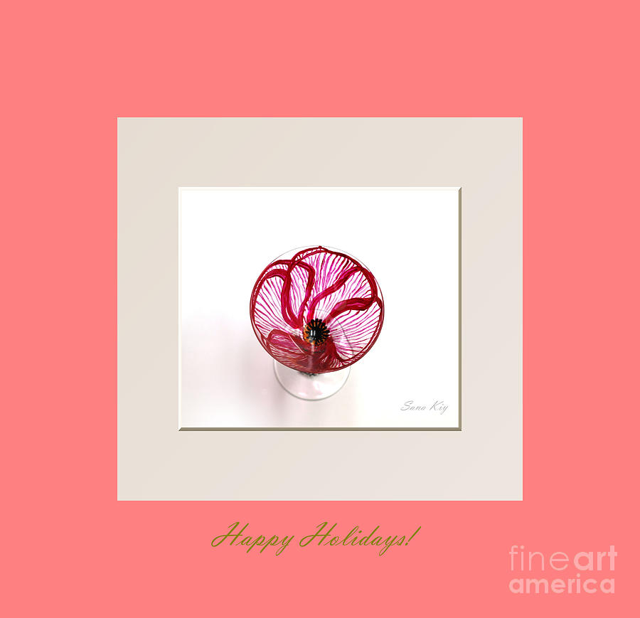 Happy Holidays. Poppy Glass Art