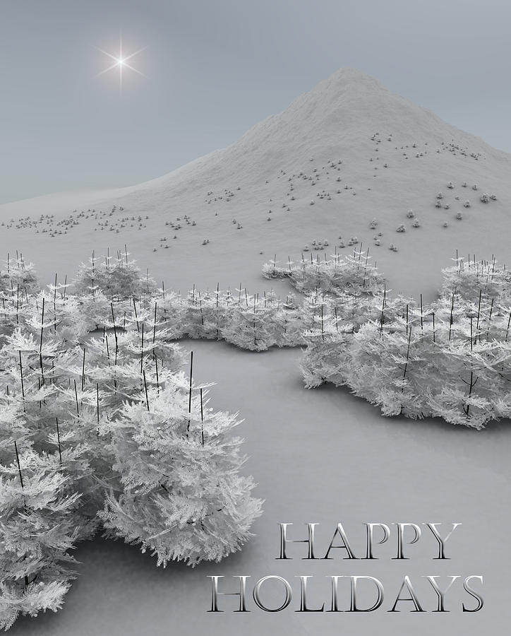 Happy Holidays Digital Art