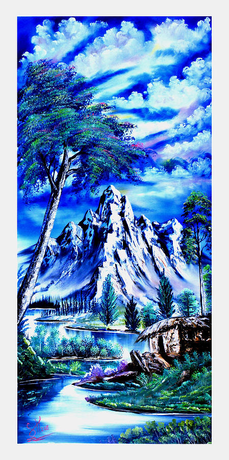 Happy Mountain  Painting