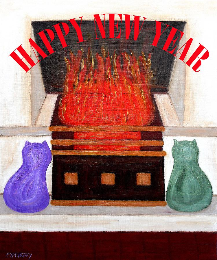 Happy New Year 2 Painting