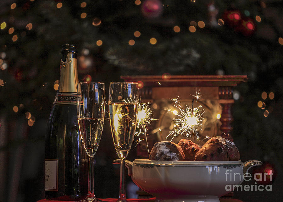 Happy New Year Photograph  - Happy New Year Fine Art Print