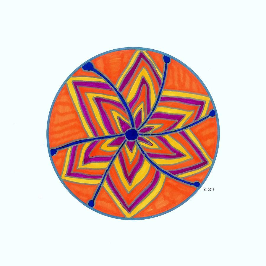 Hara Chakra Flow Drawing
