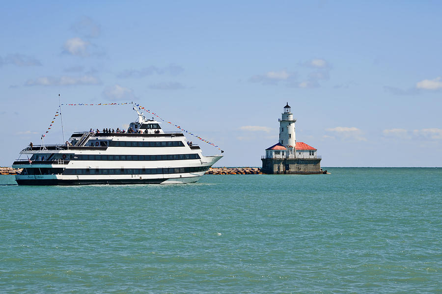 Chicago Photograph - Harbor Light Chicago by Christine Till