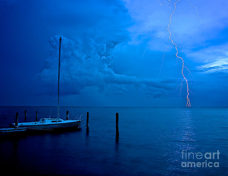 Harbor Storm Photograph  - Harbor Storm Fine Art Print